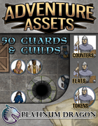 Adventure Assets - 50 Guards and Guilds
