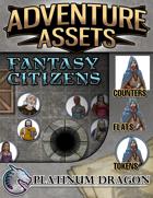 Adventure Assets - 50 Fantasy Citizens