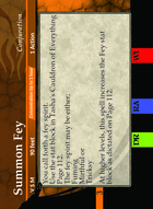 Summon Fey - Custom Card