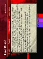Fire Blast - Custom Card