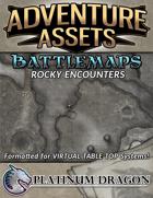 Adventure Assets - Battlemaps - Rocky Encounters