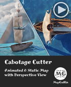 Cabotage Cutter - Animated & Static Map with Perspective Views