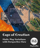 Cogs of Creation - Static Map Variations with Perspective Views