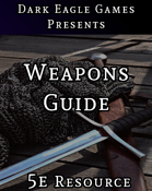 Weapon Guide