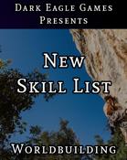 New Skill List