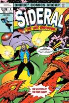 SIDERAL, THE LAST EARTHMAN #2