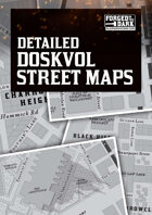 Doskvol Street Maps - Detailed Maps for Blades in the Dark