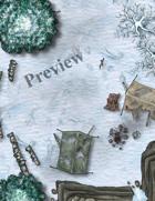 Snowy Camp Raid Battlemap