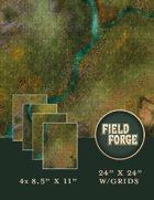 Forest Path Battle Mat - Fall