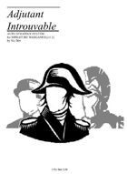 Adjutant Introuvable 1.1 [The Solo Wargaming System]