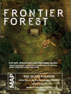 Frontier Forest - Wilderness Battlemap