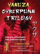 Cyberpunk Yakuza Map Trilogy [BUNDLE]