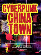 Cyberpunk Chinatown Commercial District- 46x46