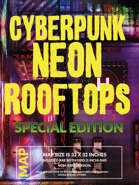 Cyberpunk Neon Rooftops - Special Edition