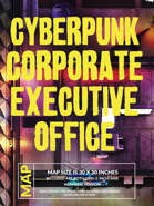 Cyberpunk Corporate Executive Office