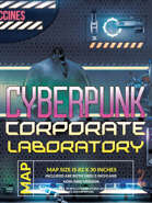 Cyberpunk Corporate Laboratory