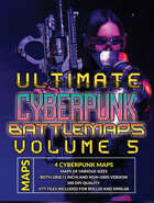 Ultimate Cyberpunk Maps Volume 5 [BUNDLE]