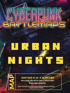 Cyberpunk - Urban Nights - Battlemap