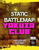 Cyberpunk Yakuza Club & Little Japan Battlemaps