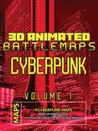 Cyberpunk Animated Map Bundle Vol.1 [BUNDLE]