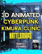 3D Cyberpunk Kimura Clinic Battlemap