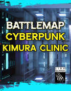 Cyberpunk Kimura Clinic - Static Battlemaps