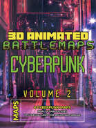 Vol.2 Cyberpunk Animated Map Bundle  [BUNDLE]