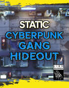 Cyberpunk Gang Hideout