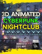 Animated Cyberpunk Nightclub