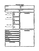 Character Cards - Roll to Role