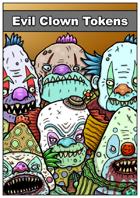 Evil Clown Tokens