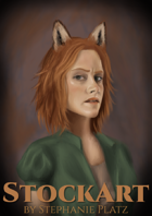 Foxwoman Fantasy StockArt
