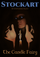 Candle Fey Fantasy StockArt