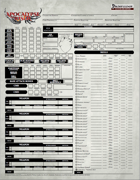 Apocalypse the Risen Fillable Character Sheet (PF1e)
