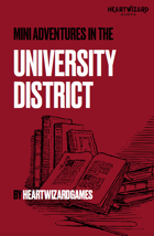 The University District Mini Adventure Pack