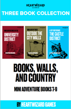 Books, Walls and Country [BUNDLE]