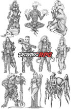 RPG characters: Pack5