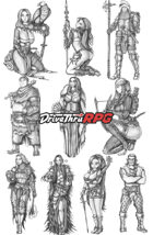 RPG characters: Pack6