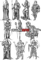 RPG characters: Pack8