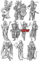 RPG characters: Pack14
