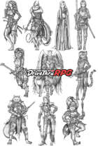 RPG characters: Pack17