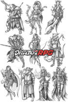 RPG characters: Pack18