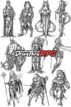 RPG characters: Pack20