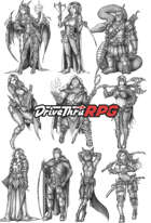 RPG characters: Pack21
