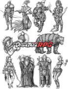 RPG characters: Pack22