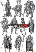 RPG characters: Pack23