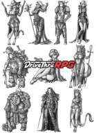 RPG characters: Pack24