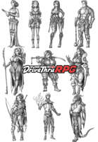 RPG characters: Pack25