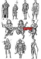 RPG characters: Pack28