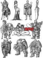 RPG characters: Pack29